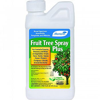 Monterey Fruit Tree Spray Plus Concentrate  16 OUNCE (Case of 12)