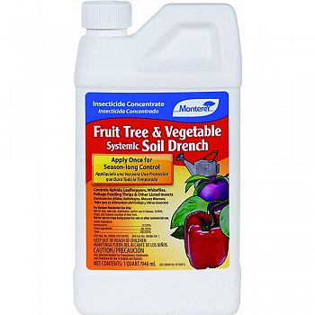 Fruit Tree & Vegetable Systemic Soil Drench Conc  32 OUNCE (Case of 12)