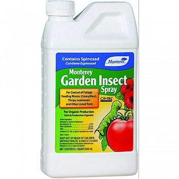 Monterey Garden Insect Spray Concentrate  32 OUNCE (Case of 12)