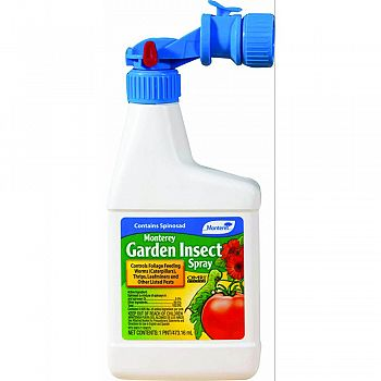Monterey Garden Insect Spray Ready To Spray  16 OUNCE (Case of 12)