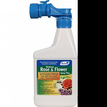 Monterey Rose And Flower Spray Plus Ready To Spray  16 OUNCE (Case of 12)
