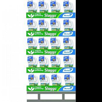 Monterey Sluggo Quarter Pallet Display  2.5 POUND (Case of 80)
