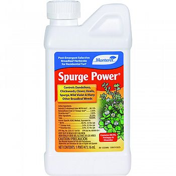 Monterey Spurge Power Concentrate  16 OUNCE (Case of 12)