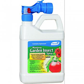 Monterey Garden Insect Spray Ready To Use  32 OUNCE (Case of 12)