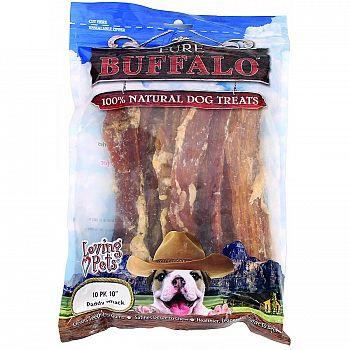Pure Buffalo Backstrap - 10 in./10 ct.