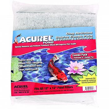 Acurel Coarse Combo Pack Polyester & Carbon