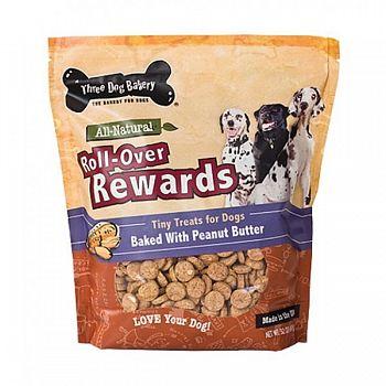 Roll-over Rewards Dog Tiny Treats 32 oz.