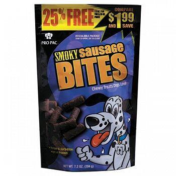 Smoky Sausage Bites  (Case of 10)