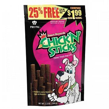 Chick N Sticks Dog Treats 7.2 oz.  (Case of 10)