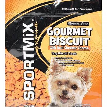 Sportmix Premium Select Gourmet Biscuit - Cheddar Cheese / 3 lbs