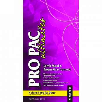Pro Pac Ultimates Natural Food For Dogs