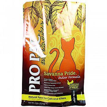 Pro Pac Ultimates Savanna Pride Indoor Cat Food