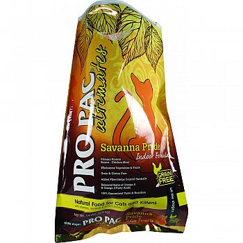 Pro Pac Ultimates Savanna Pride Indoor Cat Food