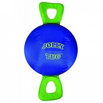 Jolly Tug Horse Toy - Blue / 14 in.