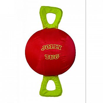 Jolly Tug Horse Toy - Red / 14 in.