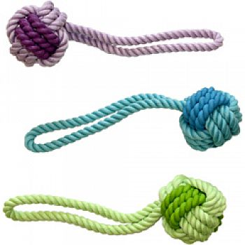 Nuts For Knots Rope And Rubber Ball With Tug