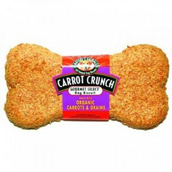 Organic Carrot Dog Biscuit 4 inch (Case of 48)
