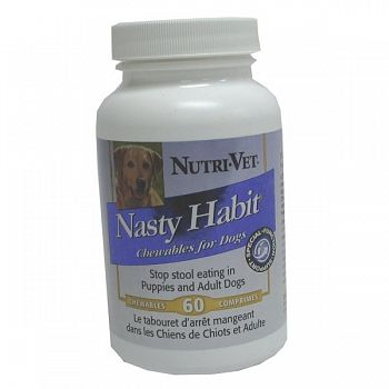 Nasty Habit for Dogs - 60 ct.