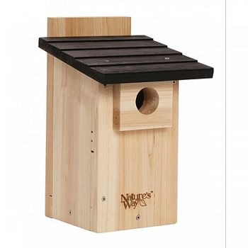 Cedar Bluebird Viewing House