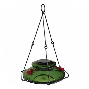 Modern Hummingbird Feeder - Green