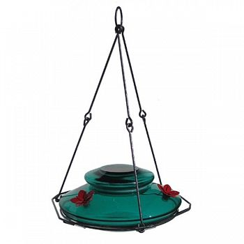 Modern Hummingbird Feeder - Teal