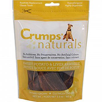 Naturals Sweet Potato & Liver Rawhide