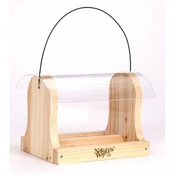 Cedar Hopper Feeder - 4 qt.