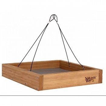 Bamboo Hanging Platform Feeder