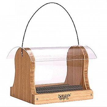 Bamboo Hopper Feeder - 4 qt.