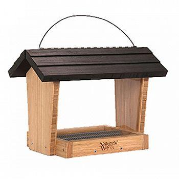Bamboo Hopper Feeder - 6 qt.