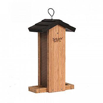 Bamboo Vertical Mesh Feeder -  2 qt.