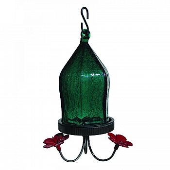 Crackled Jewel Hummingbird Feeder