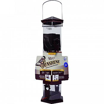 Sunshine Series Twist & Clean Tube Bird Feeder
