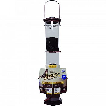 Sunshine Series Twist & Clean Thistle Bird Feeder