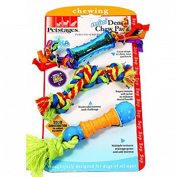 Mini Dental Chew Toy Pack For Dogs - MINI/3 ct.