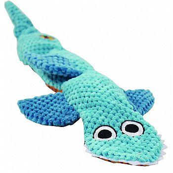 Stuffing Free Floppy Shark Dog Toy
