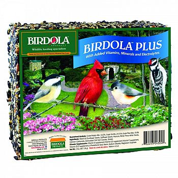 Birdola Plus Seed Cake (Case of 8)