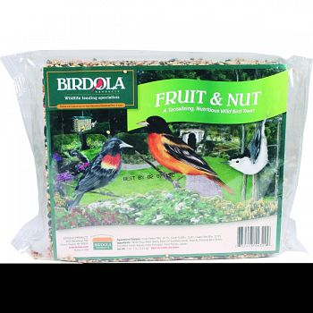 Birdola Fruit And Nut Seed Cake  2.44 POUND (Case of 8)
