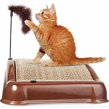 Emerycat Catnip Scratcher And Grooming Toy