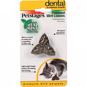 Pressed Mint Leaves For Cats
