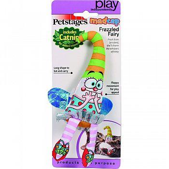 Madcap Frazzled Fairy Catnip Toy MULTICOLORED 6 INCH
