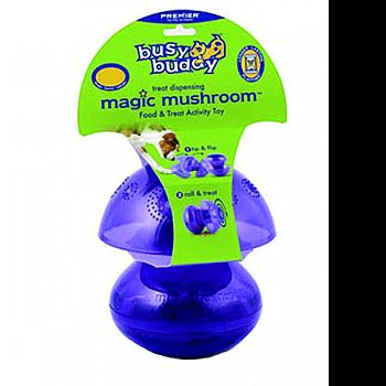 Busy Buddy Magic Mushroom PURPLE SMALL