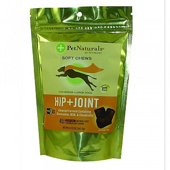 Hip+Joint for Medium and Large Dogs - 45 Soft Chews