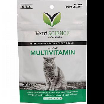Nucat Multivitamin FISH 1.32OZ/30CT