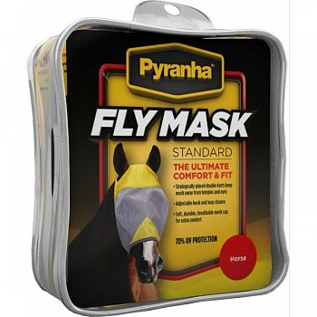 Pyranha Fly Mask - No Ears  LARGE/HORSE