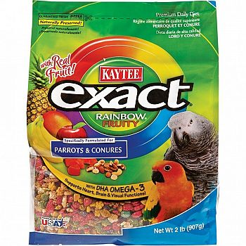 Exact Fruity Rainbow Parrot / Conure - 2 lbs