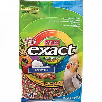 Exact Fruity Rainbow Cockatiel - 2 lbs