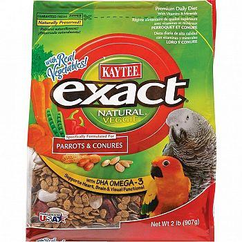 Exact Veggie Natural Parrot / Conure - 2 lbs