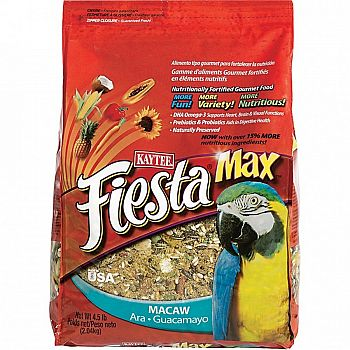 Fiesta Food Macaw