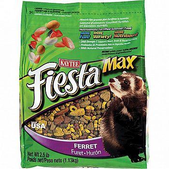 Kaytee Fiesta Ferret Diet - 2.5 lbs.